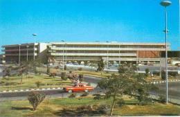 CP.   JEDDAH'S.  INTERNATIONAL  AIRPORT.  AEROPORT  INTERNATIONAL.  Pli  Central  Vertical - Arabie Saoudite