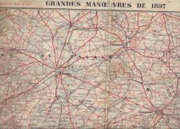 Grandes Manoeuvres  1897 - Mappe