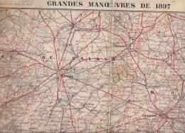 Grandes Manoeuvres  1897 - Cartes