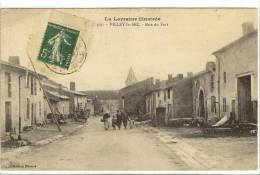 Carte Postale Ancienne Villey Le Sec - Rue Du Fort - France