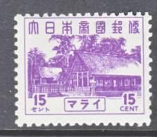 Malaya  N 38  * - Grande-Bretagne (ex-colonies & Protectorats)