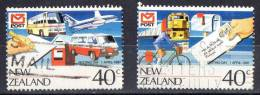 New Zealand 1987 Post Vesting Day Set Of 2 Used - Used Stamps