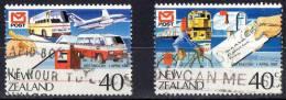 New Zealand 1987 Post Vesting Day Set Of 2 Used - - New Zealand