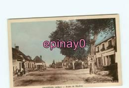 Bf - 03 - CHAZEUIL - Route De Moulins - Poste De Secours - - France