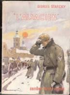 L'alsacien Starcky Ww2 Guerre  Mondiale 1957 Militaire Alsace Lorraine - History