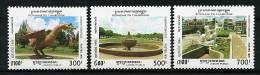Cambodge ** N° 1268 à 1270 - Tourisme : Jardins Publics - Cambodia