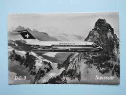 CP/SWISSAIR/DC 9 - 1946-....: Ere Moderne