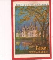 - CARTE CHEMIN DE FER 'ORLÉANS - Spoorwegen
