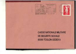 FLAMME   88 CHATEL S/MOSELLE - Marcophilie (Lettres)
