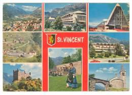 G2437 Saint Vincent (Aosta) - Multipla / Viaggiata 1979 - Altre Città
