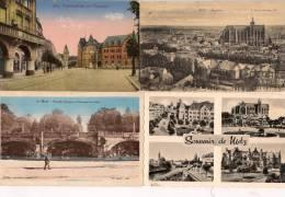 13 / 2 / 245  LOT DE 17  CP DE METZ - Toutes Scanées - Cartes Postales