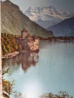 CH SUISSE VD CHATEAU De CHILLON Et Les Dents Du Midi Montreux - VD Vaud