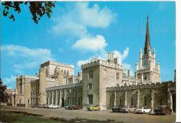 Hertfordshire Postcard - The North Front, Ashridge Management College    A4441 - Hertfordshire