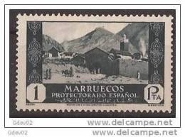 MA143-LB063TRI.Maroc  Marocco MARRUECOS ESPAÑOL VISTAS Y PAISAJES.1933/5. (Ed 143**) Sin Charnela LUJO RARO - Islam