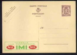 BELGIQUE - LESSIVE - LAVAGE  / ENTIER POSTAL PUBLICITAIRE ILLUSTRE - PUBLIBEL # 823 (re F E278) - Publibels