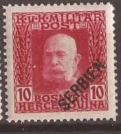 1916 X  190  SERBIA SRBIJA AUSTRIA OSTERREICHISCHE FELDPOST Leger  HINGED - Serbien