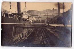 AK SCHIFFE KRIEG REAL FOTO OLD POSTCARD - Warships