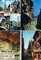 280213D  Lot De 33 CPM/CPSM Couleur Vierges Pour Ecrire : Dep.14 Calvados Uniquement D'Honfleur) - Cartes Postales