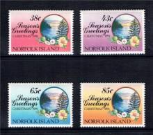 NORFOLK - 1991 - Fleurs, Noël 1991 - 4v Neufs *** // Mnh - Norfolk Island