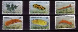 NORFOLK - 1993 - Faune Marine, Nudibranches - 6v Neufs *** // Mnh - Isola Norfolk