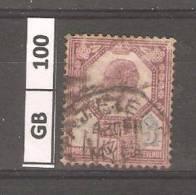 GRAN BRETAGNA,1902, Edoardo VII, 5p, Usato - 1902-1951 (Re)