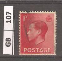GRAN BRETAGNA, 1936, Edoardo VIII, 1 P, Usato - Usati