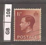 GRAN BRETAGNA, 1936, Edoardo VIII, 1,5 P, Usato - Usati
