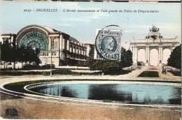 BRUXELLES - L'Arcade Monumentale Et L'Aile Gauche Du Palais Du Cinquantenaire - Editeur Henri Georges, Bruxelles - Monuments, édifices