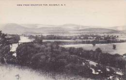 New York Waverly View From Mountain Top Artvue