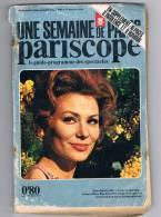 UNE SEMAINE DE PARIS PARISCOPE N°59 JUIN 1969 GUIDE PROGRAMME SPECTACLES 2S - 1950 à Nos Jours