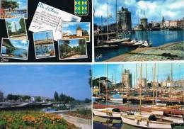 280213K  Lot De 90 CPM/CPSM Couleur : Dep.17 Charentes Maritimes (beaucoup De Bateaux) - Cartes Postales