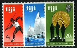 326)  FIJI  1969     Sc.#280-82  (*) - Fiji (...-1970)