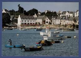 29 COMBRIT STE-MARINE A L'estuaire De L'Odet, Le Petit Port De Pêche De Sainte Marine ; Chalutiers, Canots - Animée - Combrit Ste-Marine