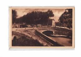 11 SALLELES AUDE Canal Du Midi, Pont, Ecluse, Animée, Attelage, Ed ERA 1688, 193? - Salleles D'Aude