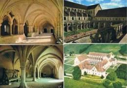 280213H  Lot De 22 CPM/CPSM Couleur Vierges Pour Ecrire : Dep.16 : Abbaye De Noirlac - Cartes Postales