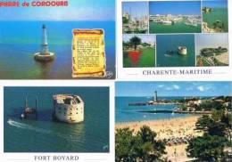 280213K  Lot De 73 CPM/CPSM Couleur Vierges Pour Ecrire : Dep.17 : Charente Maritime Divers - Cartes Postales