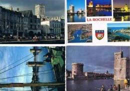 280213L  Lot De 100 CPM/CPSM Couleur Vierges Pour Ecrire : Dep.17 : La Rochelle - Cartes Postales