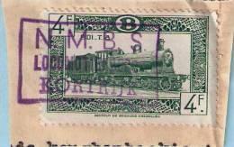 TR308 Op Spoorwegfragment, Afst. NMBS LOCOMOTIEFDEPOT KORTRIJK - 1942-1951