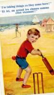 ILLUSTRATEUR ENFANT SPORT HUMOUR COMIQUE SÉRIES LONDON BASEBALL - Künstlerkarten