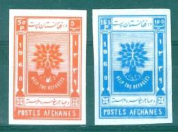 Afghanistan 1960 World Refugee Year Imperforated MNH** - Lot. 1975 - Afghanistan