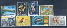 Ghana 1967 Various Subjects Surcharged MNH** - Lot. 1984 - Ghana (1957-...)
