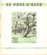 Le Pays D Auge . Mensuel. 15pages Avec L Histoire De Courtonne La Meurdrac - Normandie
