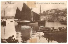 Audierne - L'Arrivée Des Bâteaux De Pêche Au Crépuscule - Audierne