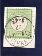ALLEMAGNE 1872 YV NR 7 O - Oblitérés