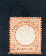ALLEMAGNE 1872 YV NR 8 O - Neufs