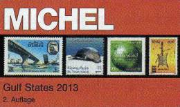 Gulf-State Naher Osten Michel Katalog 2013 New 89€ Stamps From All Country Of Arabia Part 10 In English Catalogue Of VAE - Handbooks