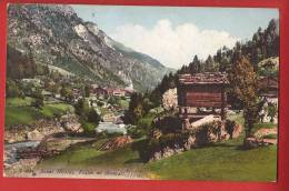 YY0296-58 St-Niklaus St Nicolas, Vallée De Zermatt.Vieux Raccard. Circulé Sous Enveloppe. JUllien 9587 - VS Valais