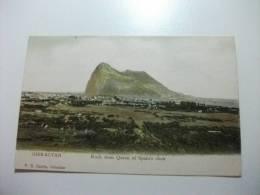 Gibraltar Rock From Queen Of Spain's Chair - Gibilterra