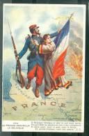 1914 La France Accueille La Belgique , Texte De J.C. - Bcc88 - Otras Guerras