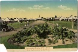 Vintage Postcard, Coronation Durbar 1911 - Delhi, H.E. The Commander In-chief Camp, India (ref.#-2812e) - Inde
